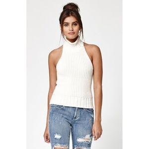 Kendall & Kylie Turtleneck Sleeveless sweater M